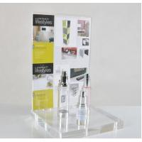 Wholesale OEM retail counter POS clear acrylic display stand for cosmetic from china suppliers