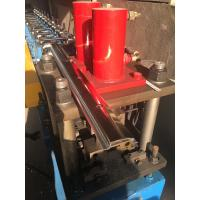 Wholesale 12 Mpa Adjustable Cold Roll Forming Machine Manual Feeding With 3 Groups Solenoid Valve from china suppliers