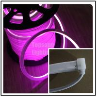Wholesale AC 240V high quality square pink led neon flexible light 16x16mm IP68 waterproof from china suppliers