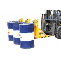 Wholesale Loading 1500Kg forklift drum crane attachments bandage type purely mechanical from china suppliers
