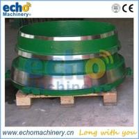 Buy cheap high manganese Metso GP100,200,250,300 etc cone crusher spare parts from wholesalers