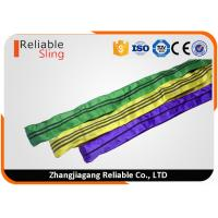 Wholesale Tested Endless Polyester Round Slings for Pipe Lifting Safety Factor 7-1 from china suppliers