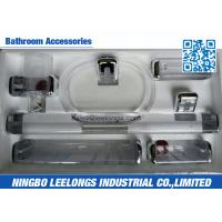 Wholesale Transparent Bathroom Sanitary Ware Accessories Withcup Holder , Towel Ring , Tower Bar from china suppliers