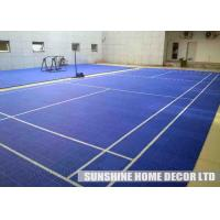 Wholesale Colorful Futsal Court Flooring , Plastic Basketball Court Floor from china suppliers