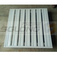 Wholesale 2 Way / 4 Way Fireproof Stackable Metal Pallets Single Faced ISO9001 Certification from china suppliers