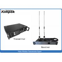 Wholesale NLOS Rugged COFDM HD Wireless Transmitter , 1080P HD Wireless Video Sender with Data Encryption from china suppliers