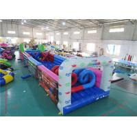 Wholesale Outdoor Inflatables Obstacle, Inflatable Challenge Course For Party Games from china suppliers