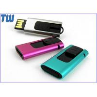 Wholesale Slide Type USB Pen Thumb Drive 4GB Rectangle Design Curved Edge from china suppliers