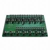 Quality Electronic PCB Assembly for Industrial Control Unit, Made of FR-4 for sale