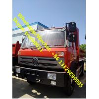 Buy cheap High qulaity and best price Dongfeng 4*2 LHD dump tipper for stones and coals for sale, China made tipper truck from wholesalers