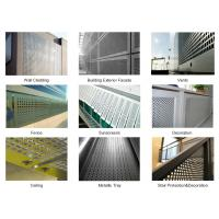 Quality Perforated metal exterior wall panels for sale