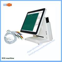 Wholesale family use 3 channel 6 channel 12 channel portable ECG machine portable electrocardiograph from china suppliers