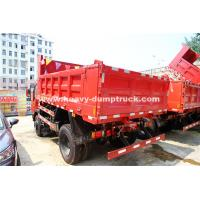 Quality SINOTRUK 4x2 Howo Dump Truck Truck Right Hand Drive Vehicles With 6.5m³ Bucket for sale
