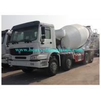 Wholesale Sinotruk Howo brand Concrete Mixing Truck 8CBM 371 HP whilte color or red color from china suppliers