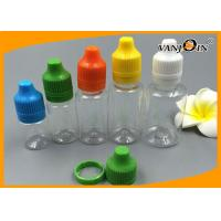 Wholesale Plastic E-cigarette / E-cig Liquid Bottles10ml 15ml 20ml 25ml 30ml Recycled PE / PET Bottles from china suppliers
