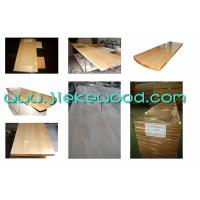 Buy cheap Maple solid wood panel finger jionted worktops countertops table tops butcher block tops kitchen tops from wholesalers