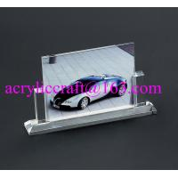 Wholesale Wholesale handmade glass souvenir photo picture frames clear acrylic photo stand from china suppliers