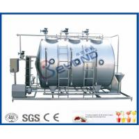 Wholesale Small Conjunct Type 500LPH CIP Cleaning System For Milk Dairy Industry from china suppliers