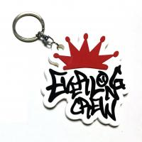 Custom soft PVC rubber keychains for promotional gifts by China manufacturer