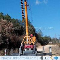 Wholesale Export standard Pole Erection Cranes Motors Handling Cranes from china suppliers