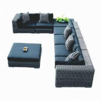 Wholesale Wicker rattan sofa sets, hotel/patio/club use, aluminum frame, UV-resistant from china suppliers