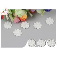 Wholesale Original Cotton Small Flower Lace Collar Applique With DTM Dyeing from china suppliers