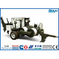 Wholesale 380kN 38T Overhead  Tension Stringing Equipment Conductor Hydraulic Cable Puller from china suppliers