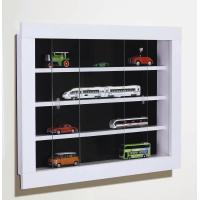 Wholesale Elegant Wall Mounted Display art display shelf With Glass Door from china suppliers