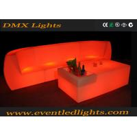 Wholesale Acrylic Material Illuminated Led Sofa And Chair For Events 1 Year Warranty from china suppliers