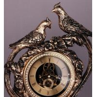 Wholesale LUXURY table clocks with bird design from china suppliers