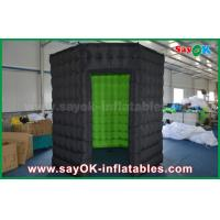 Quality White / Black Octagon Inflatable Photo Booth With Strong Wind Resistant 16 kg for sale