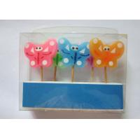 Wholesale Newest  Butterfly Design Colourful Toothpick Birthday Decorative Candles from china suppliers