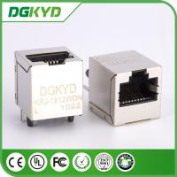 Wholesale 1000 Base-T  Magnetic connector module, vertical insertion, metal shielded from china suppliers