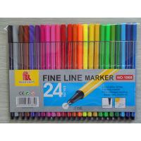 Wholesale 24 colors fineliner pen set,24pcs pack pvc bag fine liner pen set,gift pen set from china suppliers