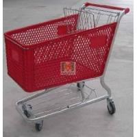 Quality Plastic Shopping Trolley (MJYI-180S) for sale