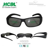 Wholesale Lightweight Theatre Video IMAX 3D Glasses / Eyewear For Digital Cinema from china suppliers