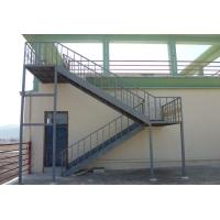 Wholesale Prefabricated Structural Steel Stairs Customized Q235 Grade Easy Assembly from china suppliers