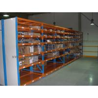 Wholesale 7 Level Stainless Steel Shelving With Side Panel Blue / Orange / Grey Color from china suppliers