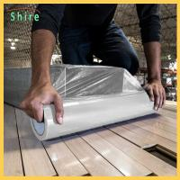 Wholesale Heavy Duty Hard Floor Protection Film Roll 25M X 500MM Easy Peel Off from china suppliers