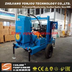 Wholesale Diesel Engine Self Priming Trash Pump, Vacuum Prime Assist Pumps, Solid Handling Pumps from china suppliers