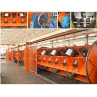 Vertical Wire Twisting Active Pay Off Stranding Machine / Wire Stranding Machine