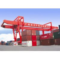 Buy cheap 41Ton quay side Automatic Electro RMG rail mounted Container Gantry Crane from wholesalers