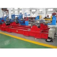 Wholesale 2 * 7.5KW Industrial Pipe Turning Rolls , Heavy Duty Self Aligning Rotator from china suppliers