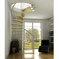 Wholesale Modern Custom Spiral Staircases with Stainless Steel Baluster from china suppliers