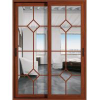 Wholesale German hardware 1.6mm profile thickness aluminum sliding glass doors with fly screen from china suppliers