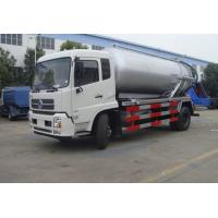 Wholesale high quality and cheapest price dongfeng tianjin RHD 10m3 sewage suction truck for sale from china suppliers