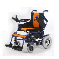 Wholesale Foldable Battery Operated Wheelchair from china suppliers