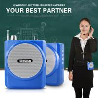 Wholesale 2.4G Digital Voice Amplifier with Recorder FM Radio MP3 Playing,Wired Microphone Headset Waistband and Belt from china suppliers