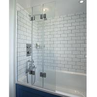 Wholesale safety polished glass with ce for shower screen from china suppliers
