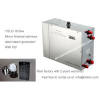 Wholesale Automatic Fast Steam Sauna Steam Generator 16kw 3 Phase With Waterproof Controller Ip68 from china suppliers